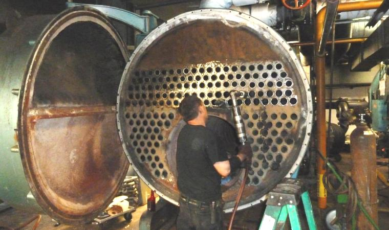 We provide boiler maintenance on any brand of commercial boiler.