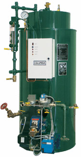 Authorized Distributor for Columbia Boilers