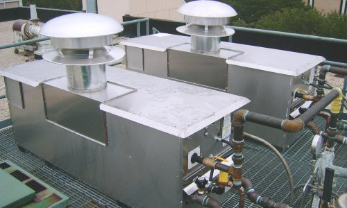 Tandem Low Profile Roof Mounted Boilers