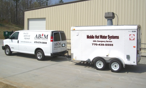 Temporary boiler rental systems.